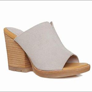 Kork-Ease Lawton heeled slide mule sandal